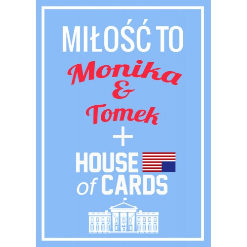 Plakat House of Cards