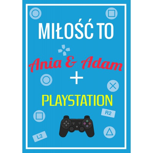 Plakat Playstation