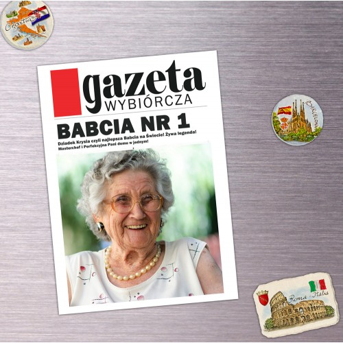 Magnes Personalizowany Babcia nr 1