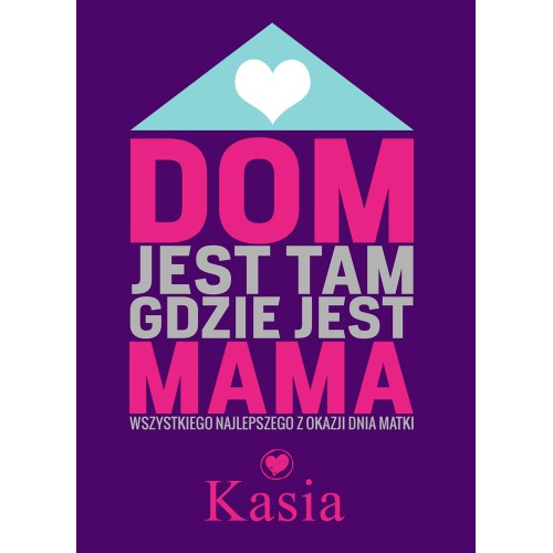 Magnes Personalizowany Dom